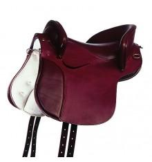 Spanisch Land Saddle, Sattelleder