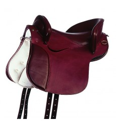 Spanish Country Saddle, saddler leather