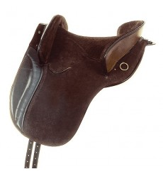 Suede country saddle Jerez