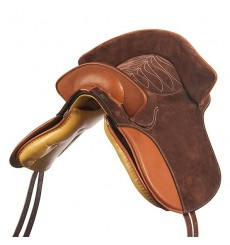 Baroque Suede Country Saddle