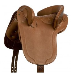 Leather country saddle Royal