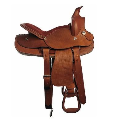 Western fancy saddle