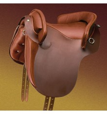Marjoman Country Saddle with knee-heel