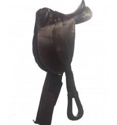 Australian saddle without pommel