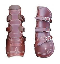 Front horse boots with straps Marjoman