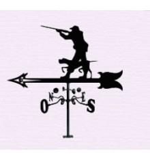 Hunter weathervane