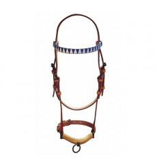 Show halter, ornamented browband