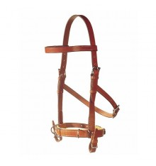 Viena bridle with straps for bit