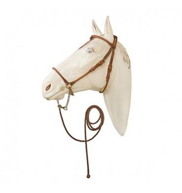 Arabian show bridle