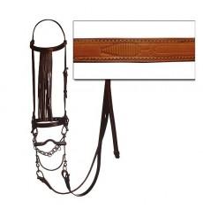 Marjoman spanish bridle with reins