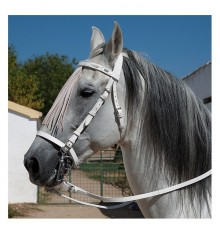 White Spanish Bridle Marjoman