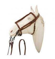 Jerezana bridle noseband with reins