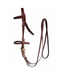 Portuguese Cortezia buckles bridle with reins