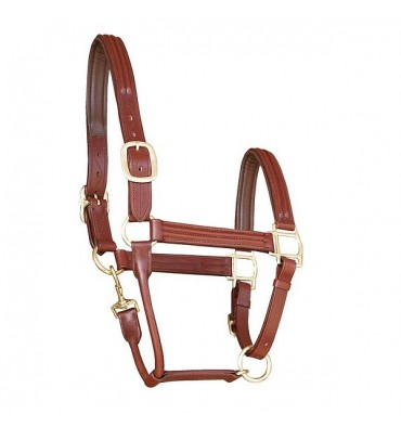 English leather stable halter