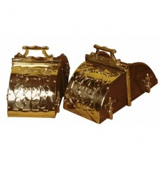 Portuguese Box decorated Stirrups
