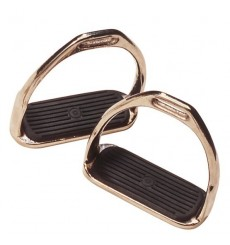 English Stirrups Nickel