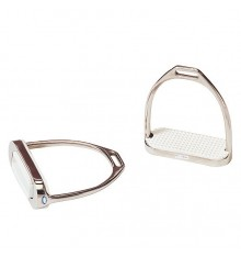 Stainless steel stirrups 12cms