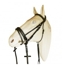 Bridle for Swedish noseband SIB 070E
