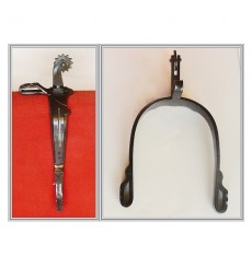 Spanish Vaquera Spurs short curved english roulette
