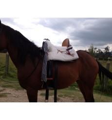 Cheap Mixed Vaquera Horse Saddle
