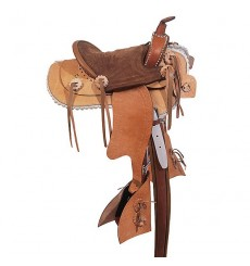 Western standard saddle California
