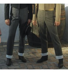 Spanish Campero trousers with turn-ups