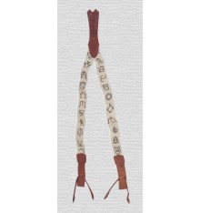 Vaquera Suspenders Cattle Brands