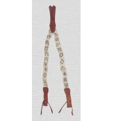 Vaquera Suspenders Cattle Brands