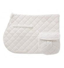 Padded Saddle Pad with Pocket