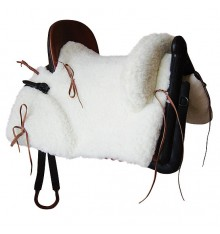 Marjoman Mixed Vaquera Saddle. Synthetic Sheep