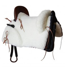 Mixed Vaquera Saddle. Synthetic Sheep