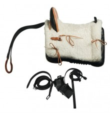 "Marjoman fiber saddle ""Mixed Vaquera"". Lightweight saddle"