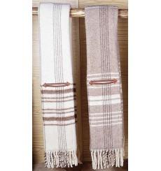 Couverture en laine pour selle vaquera avec poches en cuir