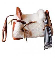 Cheap Mixed Vaquera Saddle