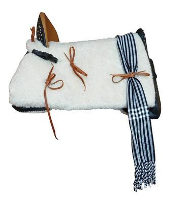 Cheap Embossed Vaquera horse saddle