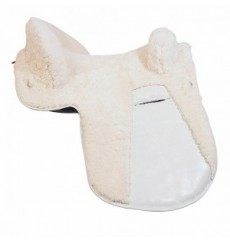 Sheepskin saddle cover for Spanish saddle Marjoman