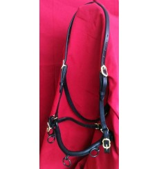 Kapsun, chain cavesson with straps for bit