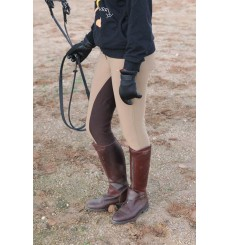Oiled Leather Polo Boots