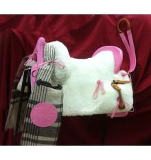 Pink Vaquera saddle