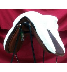 Sheepskin cover for Potrera Saddles