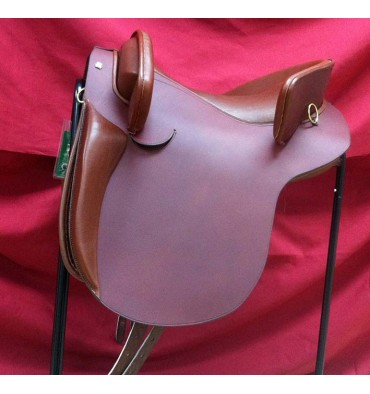 Potrera Jerez Saddle with Zalea