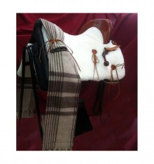 Vaquera Saddle natural sheepskin cover